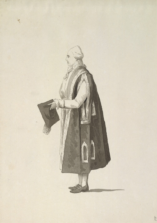 Oxford, University Dress f.41